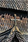 Architectural Detail of Borgund Stave Church, Borgund, Sogn og Fjordane, Norway