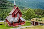 Borgund Church, Borgund, Sogn og Fjordane, Norway