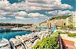 Amazing panoramic view of Monaco