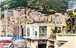 Luxurious residential houses in Monaco