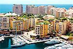 View of Fontvieille, Monaco
