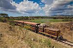Railway train, Valle de los Ingenios (Valley of the Sugar Mills), UNESCO World Heritage Site, Trinidad, Sancti Spiritus Province, Cuba, West Indies, Caribbean, Central America