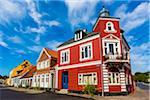 Building exteriors, Aeroskobing, Aero, Denmark