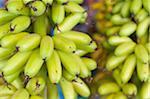 Bananas at market, Phnom Penh, Cambodia, Indochina, Southeast Asia, Asia