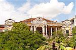 French Colonial building (La Mansion and Villa Bodega) near the Royal Palace, Phnom Penh, Cambodia, Indochina, Southeast Asia, Asia