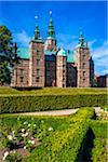 Rosenborg Castle in Rosenborg Castle Gardens (The King's Garden), Copenhagen, Denmark
