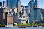 The Manhattan Skyline, New York City, New York, USA
