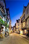 United Kingdom, England, North Yorkshire, York. The Punch Bowl pub on historic Stonegate.