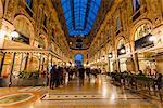 Galleria Vittorio Emanuele II gallery, Milan, Lombardy, Italy