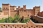 The 17th century Amerhidil kasbah, Skoura. Morocco