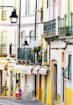 Portugal, Alentejo, EvoraWoman and girl looking in shop window  (MR)
