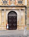 Portugal, Estramadura, Obidos, St Mary Church ( Igreja de Santa Maria)  (MR)