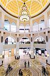 United Arab Emirates, Dubai. Interior of Dubai Mall