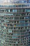 Elevated view, Sony Center Deutsche Bahn offices, from Panoramapunkt, Kollhoff Building, Potsdamer Platz, Berlin, Germany, Europe