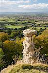 Devil's Chimney, Leckhampton Hill, Cheltenham, Gloucestershire, England, United Kingdom, Europe