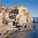 Manarola, Cinque Terre, UNESCO World Heritage Site, Rivera di Levante, Provinz La Spazia, Liguria, Italy, Europe