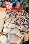 Fish for sale at the public market, Dumaguete, Cebu, The Visayas, Philippines, Southeast Asia, Asia