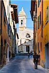 Italy, Tuscany, Siena district, Orcia Valley, San Quirico d'Orcia, San Quirico Collegiata Church