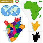 Administrative division of the Republic of Burundi