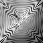 Design monochrome twirl circular movement background. Abstract stripy metallic backdrop. Vector-art illustration. EPS10