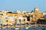 St. Joseph church in Kalkara Creek, Vittoriosa, The Three Cities, Malta, Mediterranean, Europe
