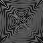 Design monochrome twirl circular movement background. Abstract stripy textured backdrop. Vector-art illustration. EPS10
