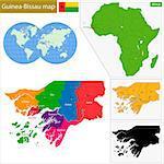 Administrative division of the Republic of Guinea-Bissau