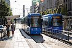 Electric tram, Stockholm, Sweden, Scandinavia, Europe