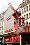 Moulin Rouge, Pigalle, Paris, France