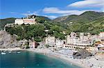 Monterosso al Mare, Cinque Terre, Rivera di Levante, UNESCO World Heritage Site, Liguria, Italy, Europe