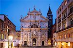 San Moise Church, Venice, UNESCO World Heritage Site, Veneto, Italy, Europe