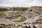 Ancient greek amphitheater in Turkey