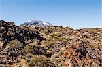 Scenic view of volcano Teide, Tenerife. Canary Islands