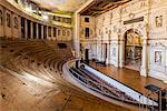 Interior of Teatro Olimpico, Vicenza, Veneto, Italy