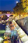 Italy, Italia. Latium, Lazio. Rome, Roma. Tiber River.