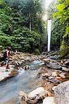 South East Asia, Philippines, The Visayas,  Negros, Dumaguete, Valencia, Casaroro Falls (MR)