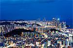 Asia, Republic of Korea, South Korea, Busan, city skyline