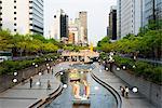 Asia, Republic of Korea, South Korea, Seoul, Cheong-gye river