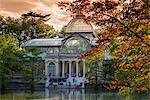 Palacio de Cristal, Buen Retiro Park, Madrid, Comunidad de Madrid, Spain