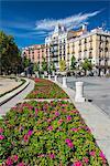Historical buildings in Plaza de Oriente, Madrid, Comunidad de Madrid, Spain