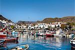 Marina, Puerto de Mogan, Gran Canaria, Canary Islands, Spain