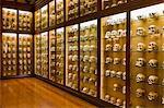 Skulls, Museo Canario, old town, Vegueta, Las Palmas, Gran Canaria, Canary Islands, Spain