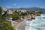 Beach of Nerja, Costa del Sol, Andalusia, Spain