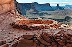 U.S.A., Utah, Canyonlands National Park, False Kiva