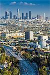 City skyline, Los Angeles, California, USA