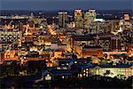 USA, Alabama, Birmingham, City at Night