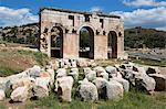 Arch of Mettius Modestus, Patara, near Kalkan, Lycia, Antalya Province, Mediterranean Coast, Southwest Turkey, Anatolia, Turkey, Asia Minor, Eurasia