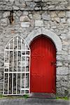 Close-up of doorway, Galway, Republic of Ireland