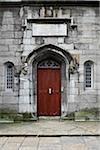 Close-up of doorway, Dublin Castle, Dublin, Republic of Ireland