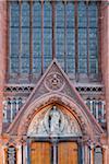 Close-up of St Augustine and St John The Baptist Catholic Church (John's Lane Church) Dublin, Republic of Ireland